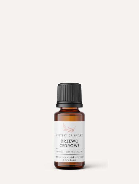 olejek eteryczny z drzewa cedrowego